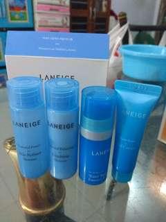 laneige moisture care trial kit (4 item)
