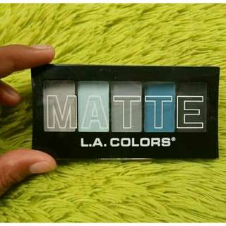 LA colors Matte eyeshadow New / CEM474 Blue Denim