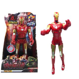 32CM Avengers Ironman Movable ABS PVC Painted Action Figure