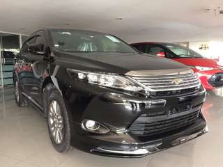UNREGISTER Toyota Harrier 2.0 Premium Specs