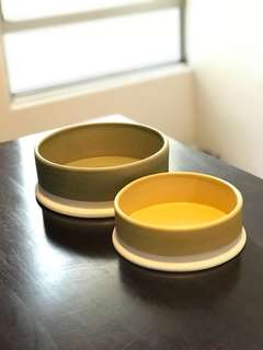 Ceramic Bowls (large & medium)