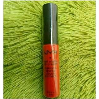 NYX Soft Matte Lip Cream shade Morocco