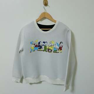 SALE!!! Snow white 7 dwarfs sweater
