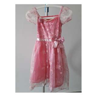 PRINCESS AURORA dress in pink from Disney Store.