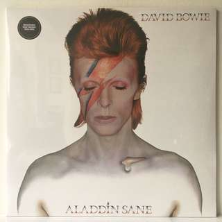 David Bowie ‎– Aladdin Sane (2016 UK Remastered 180g Reissue in Gatefold Sleeve - SEALED - MINT)
