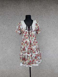 Axes Femme Large Floral Dress