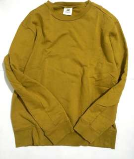 H&M Studio Collection Mustard Sweater