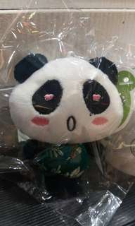 PandaQ心心眼熊貓仔背包手袋吊飾