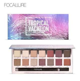 Focallure tropical vacation (eyeshadow palette)