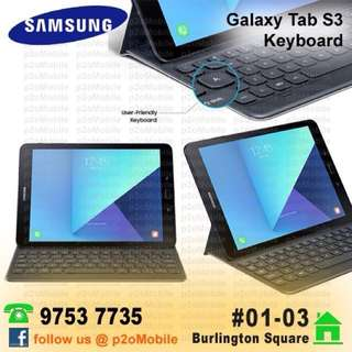 Samsung Galaxy Tab S3 Book Cover Keyboard