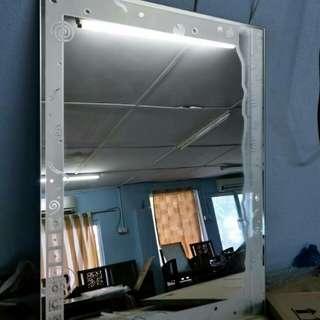 Cermin baru clear stock