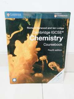 Cambridge IGCSE Chemistry Coursebook 4th Edition