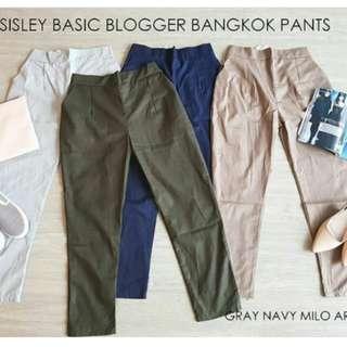 Sisley basic pants