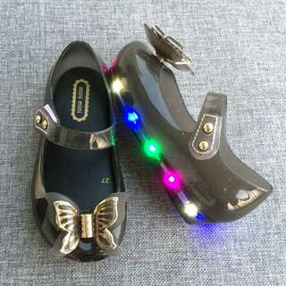 LED KID JELLY SHOES