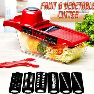 FRUIT & VEGETABLE CUTTER
