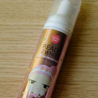 Cathy Doll Ready 2 White 2 in 1 Bubble Mousse Cleaner