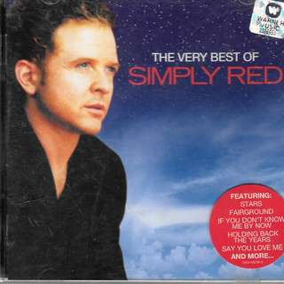 MY PRELOVED CD - SIMPLY RED - THE VERY BEST OFSIMPLY RED / FREE DELIVERY -(F9E.)