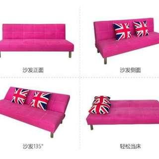 Folding Sofa Pu Leather