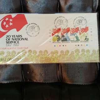 Singapore FDC