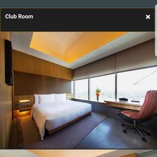 2D1N weekend staycation in Club Room at 4* Oasia Hotel Novena