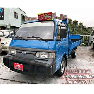 《2009 Ford Econovan 油壓尾門貨車》