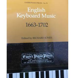 ABRSM Easier Piano Pieces English Keyboard Music
