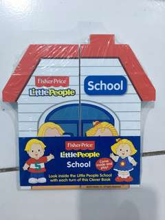 Little People Fisher Price Clever Book