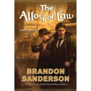 [eBook] The Alloy of Law - Brandon Sanderson