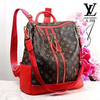 LOUIS VUITTON Varrya Backpack Multifunction A598*