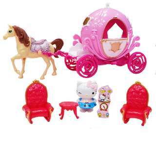 Hello Kitty Pretty Horse Carriage with Light and Music A