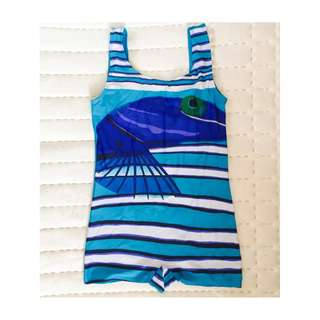 Kids One Piece Bathing Suit