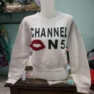 Chanel Crop Sweater