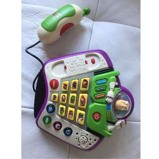 Buzz Lightyear Talk and Teach Phone & Voice Changer Toy