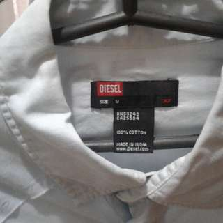 Diesel light blue long sleeve