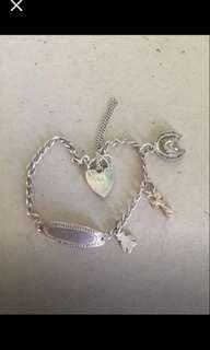 925 sterling silver charm name bracelet $40 Pick Up Joondanna