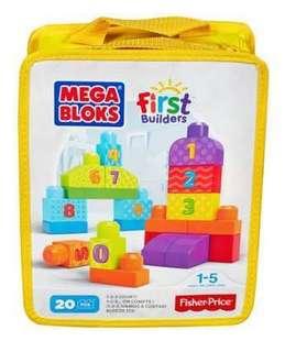Megabloks First Builder 20 pcs
