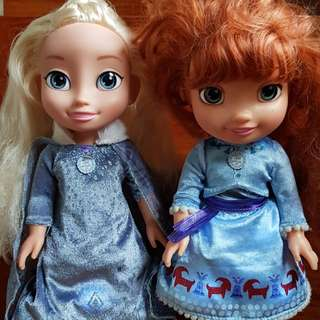 Frozen and Elsa Doll