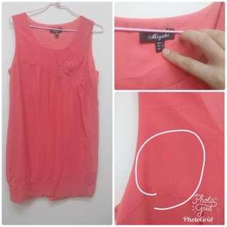 🚚 精品店 Miyabe背心洋裝 L,ML可穿,這件顏色很美