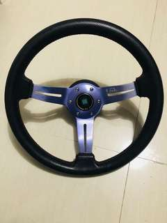 Nardi Torino Steering Wheel + BOSS KIT!!