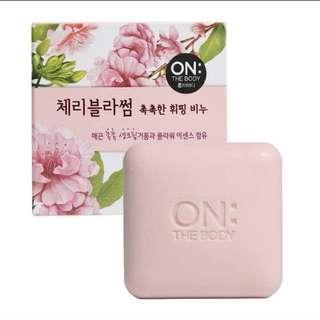 (INSTOCK)korean handmade soap face soap