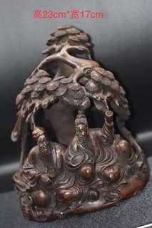 民国初期,鬼斧神工,竹雕作品
