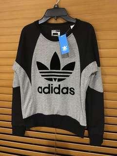 ADIDAS ORIGINALS fitted jumper