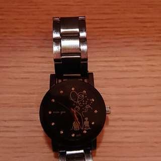 古銅色手錶
