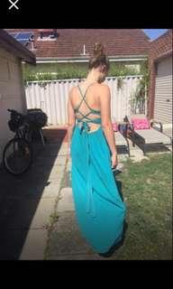 Teal aqua dress size 10/12 medium $35 Pick Up Joondanna