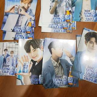 WANNA ONE BEER HITE POSTCARD INSTOCK