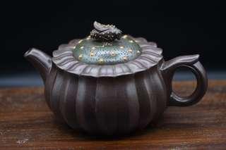 紫砂茶壺解放前紫泥