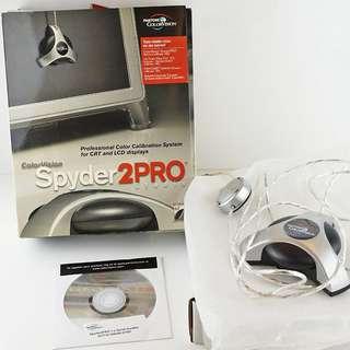 Spyder2PRO Studio 螢幕顏色矯正器(含軟體) for CRT and LCD Displays【二手】專業設計師必備螢幕校正工具
