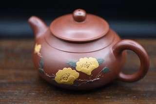 宜兴一厂早期作品,朱泥大红袍.未使用