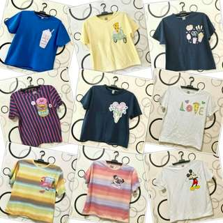 Wholesale Assorted XL Graphic Tees
