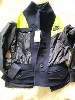 New sacai for H&M jacket sz s